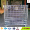Container Storage Cage with Wheels