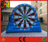 Customized Giant Blue Inflatable Soccer Dart Doard for Sale