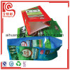 Quad Seal Side Gusset Plastic Bag for Fertilizer Packaging