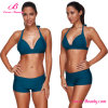 Frisky 2 Piece Cyan Push up Sexy Mature Bikini Swimwear