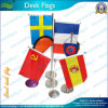 Table Flag Desk Flag Desktop Flag with Flag for Sale (NF09M03018)