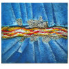 Handmade Abstract Painting on Canvas (LH-091000)