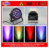 LED PAR Light 18PCS*3W Plastic Indoor Lighting