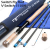 Wholesale 11FT Carbon Fiber Fly Fishing Pole Rod