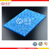 Lexan SGS Proved 1.8mm Polycarbonate Blue Embossed Sheet for Carport Roof