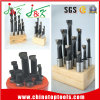 High Quality 25mm 6PCS/Set Wooden Stand Cobalt HSS Boring Bars