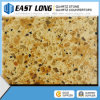 Double-Color Quartz Surface Countertop Multicolor Quartz Stone Big Slabs