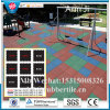 Rubber Playground Floor Matting, Interlocking Sports Rubber Flooring