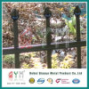Welded Steel Picket Fence / Powder Coated Spear Top Metal Fence