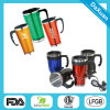 Promotional Double Wall Stainless Steel Auto Mug, Electric Auto Mugs
