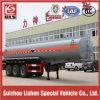 Tri-Axle 40 Cubic Meters Corrosive Liquid Tank Semitrailer