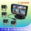 Quad Monitor Rear View System with OSD Menu