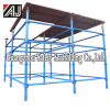 Time Saving! ! ! Painted Metal Steel Scaffolding for Sale (QS)