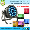 Outdoor Stage Light-18pcsx10W RGBW 4in1 LED Outdoor DMX PAR Can