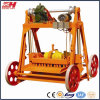 Qmy4-45 Portable Hollow Brick Making Machine with Moulds