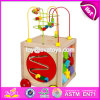 New Design Multi-Function 5 in 1 Kids Wooden Toy with Beads Maze W11b136