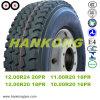 Dump Truck Tyre TBR Butyl Tube Tyre Radial Tyre (750R16, 1000R20, 11.00R20, 1200R20, 1200R24)