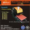 St-D2 Single Drawing out Stations Pneumatic T-Shirt Heat Press Printing Printer Machine