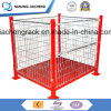 Stackable and Folable Heavy Duty Powder Coating Mesh Box with High Quality