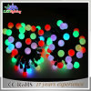 Outdoor Christmas Ornament Rubber Wire LED RGB Ball String Light