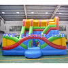 Inflatable Camping Bed Combination Slide / Inflatable Jumping Bounce House