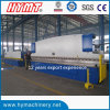 WC67Y-200X6000 Hydraulic stainless steel plate bending machinery/ metal folding machinery