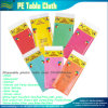 Fast Delivery Cheap Various Colors PE Plastic Disposable Table Cloth