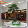 Indoor Decoration Fiberglass Artificial Fan Palm Tree
