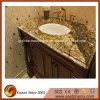 Polished Golden Vanity-Top for Bathroom