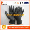 Ddsafety 2017 Hot Selling Black Nylon Black Nitrile Gloves