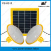 Multifunctional LED Solar System for Home Lighting with Phone Charger