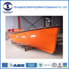 Lacs Approvals F. R. P Single Arm Open Rescue Boat