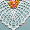 as OEM Factory Delicate Pattern Lovely Cutwork Lace