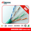 CE/RoHS/ ETL LAN Cable Solid 0.57mm/0.55mm UTP CAT6