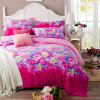 Home Textile 100% Peach Cotton Comfortable Designer Bedding Sets