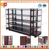 Metal Supermarket Wall Wire Shelves Storage Display Store Shelving (Zhs386)