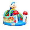 Mushroom House Inflatable Slide for Children Chsl610