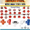 China Ductile Iron Casting Fire Fighting Groove Lock Pipe Fittings