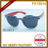 Two Color Fringe Frame Sunglasses for Kids (FK15014)