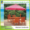 10FT Wood Outdoor Beach Patio Pool Umbrella Parasol Crank Tilt