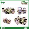 China 6c 6D Metric Male 24° Cone Bulkhead Adapters