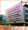 Exterior PVDF Coating New Designed Spectra Aluminum Curtain Wall Panel
