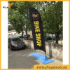 3.9m Event Promotion Fiberglass Portable Feather Flag/Flying Flag