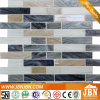 Bathroom and Kitchen Wall Strip Melting Glass Mosaic (H455018)