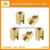 Brass Tone Self Tapping Threaded Inserts Nut