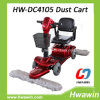 Driving Floor Cleaning Dust Push Cart
