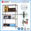 Heavy Duty 4 Tiers Home Decorate Chrome Storage Wire Shelf