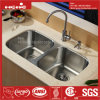 Equal Bowl Stainless Steel Kitchen Sink, Sink