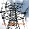 110kv-500 Kv Angle Steel Power Transmission Tower From Production Factory