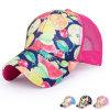 Women Fashion Printed Satin Mesh Baseball Cap (YKY3402)